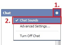 Chat sounds location when button is on top.