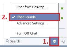 Chat sounds location when button is on bottom.