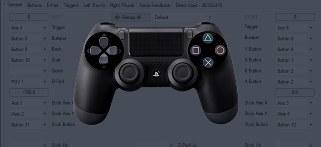 How to connect PS4 controller to PC with x360ce